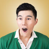 Funny facial expression Royalty Free Stock Images