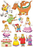 Funny fairy set. Royalty Free Stock Photography