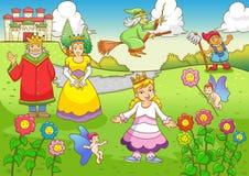 Funny fairy  tale Stock Image