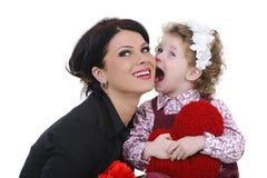 Funny family Royalty Free Stock Photography