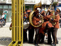 Funny fanfare Royalty Free Stock Image