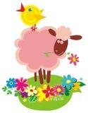 Funny farm animals Royalty Free Stock Image