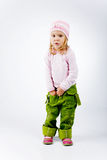 Funny fashion kid Stock Photo