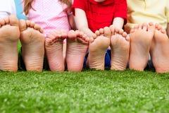 Funny feet Stock Image