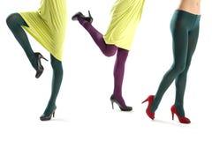 Funny female leg Royalty Free Stock Photos