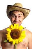 Funny fermer Stock Images