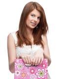 Funny festive girl Stock Photography