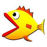 Funny fish Stock Image