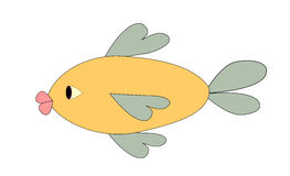 A funny Fish Stock Photography