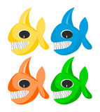 Funny fishes Stock Photography