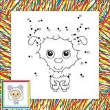 Funny fluffy sheep Royalty Free Stock Photos