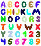 Funny font design Stock Photography