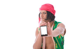 Funny fortune teller Stock Images