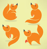 Funny fox Stock Photo