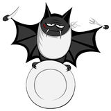 Funny freaky bat Royalty Free Stock Image