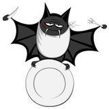 Funny freaky bat Royalty Free Stock Image