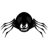 Funny freaky spider Royalty Free Stock Photo