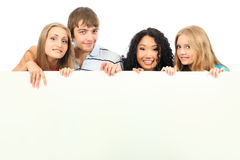 Funny friends Stock Photo