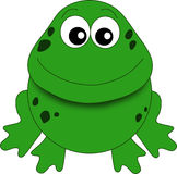 A funny frog royalty free stock photos