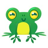 Funny Frog Cartoon Character. Vector illustration. Funny Frog Cartoon Character. Vector illustration Royalty Free Stock Photography