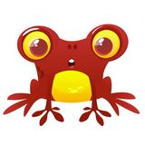 Funny Frog Cartoon Character. Vector illustration. Funny Frog Cartoon Character. Vector illustration Stock Photography