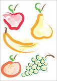 Funny fruit Royalty Free Stock Photography