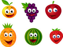 Funny fruit character Royalty Free Stock Images