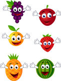 Funny fruit character Stock Photo