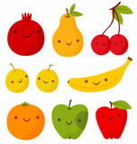 Funny fruits Royalty Free Stock Photography