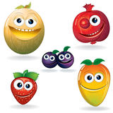 Funny Fruits D Stock Photos