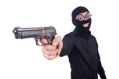 Funny gangster Stock Photo