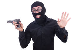 Funny gangster Royalty Free Stock Photo