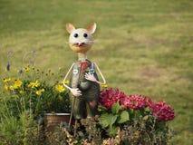 Funny Garden Gnome Stock Photography