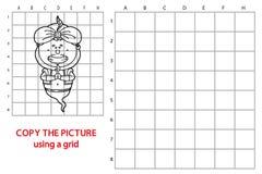 Funny Genie game. Stock Photo