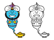 Funny Genie. Stock Images