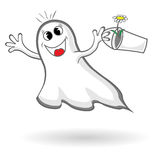 Funny ghost Royalty Free Stock Photos