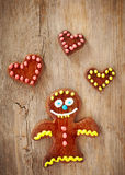 Funny gingerbread Royalty Free Stock Photography