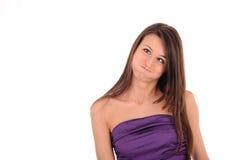 Funny girl Royalty Free Stock Photo
