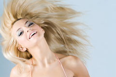 Funny girl Royalty Free Stock Images