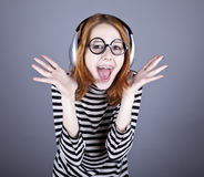 Funny girl  Stock Image