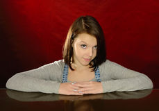 Funny girl. Royalty Free Stock Photography
