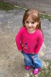 Funny girl Stock Image
