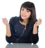 Funny girl. Royalty Free Stock Image