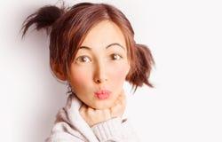 Funny girl Stock Photos