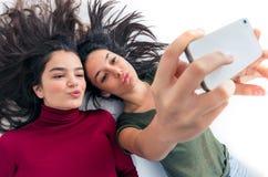 Funny Girl Friends Stock Photos