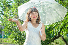 Funny  girl Royalty Free Stock Image