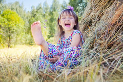 Funny girl Royalty Free Stock Photos