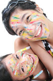 Funny Girls Stock Photography