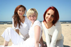 Funny girls Royalty Free Stock Images