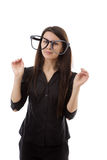 Funny glasses Royalty Free Stock Images